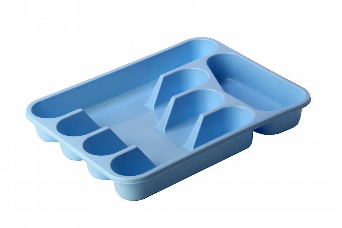 Лоток-вкладыш для столовых приборов Idea, цвет: голубойМ 1140