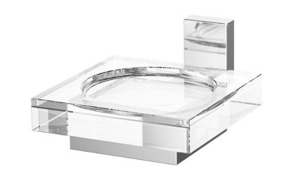 Держатель с мыльницей Lineag Tiffany, цвет: хром. TIF 005TIF 005В течение 20 лет компания Lineag разрабатывает и производит эксклюзивные аксессуары для ванной комнаты, используя современные технологии и высококачественные материалы. Каждый продукт Lineag произведен исключительно в Италии. Изысканный дизайн аксессуаров Lineag создает уникальную атмосферу уюта и роскоши в вашей ванной.