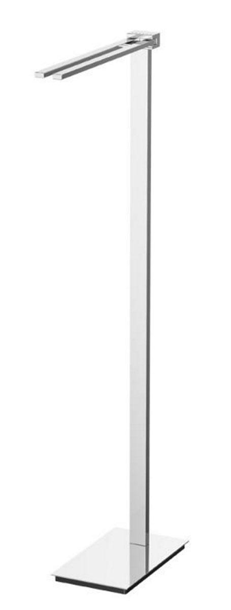 Стойка с держателем полотенец Lineag Tiffany Lux Un, цвет: хром. TIF 920TIF 920В течение 20 лет компания Lineag разрабатывает и производит эксклюзивные аксессуары для ванной комнаты, используя современные технологии и высококачественные материалы. Каждый продукт Lineag произведен исключительно в Италии. Изысканный дизайн аксессуаров Lineag создает уникальную атмосферу уюта и роскоши в вашей ванной.
