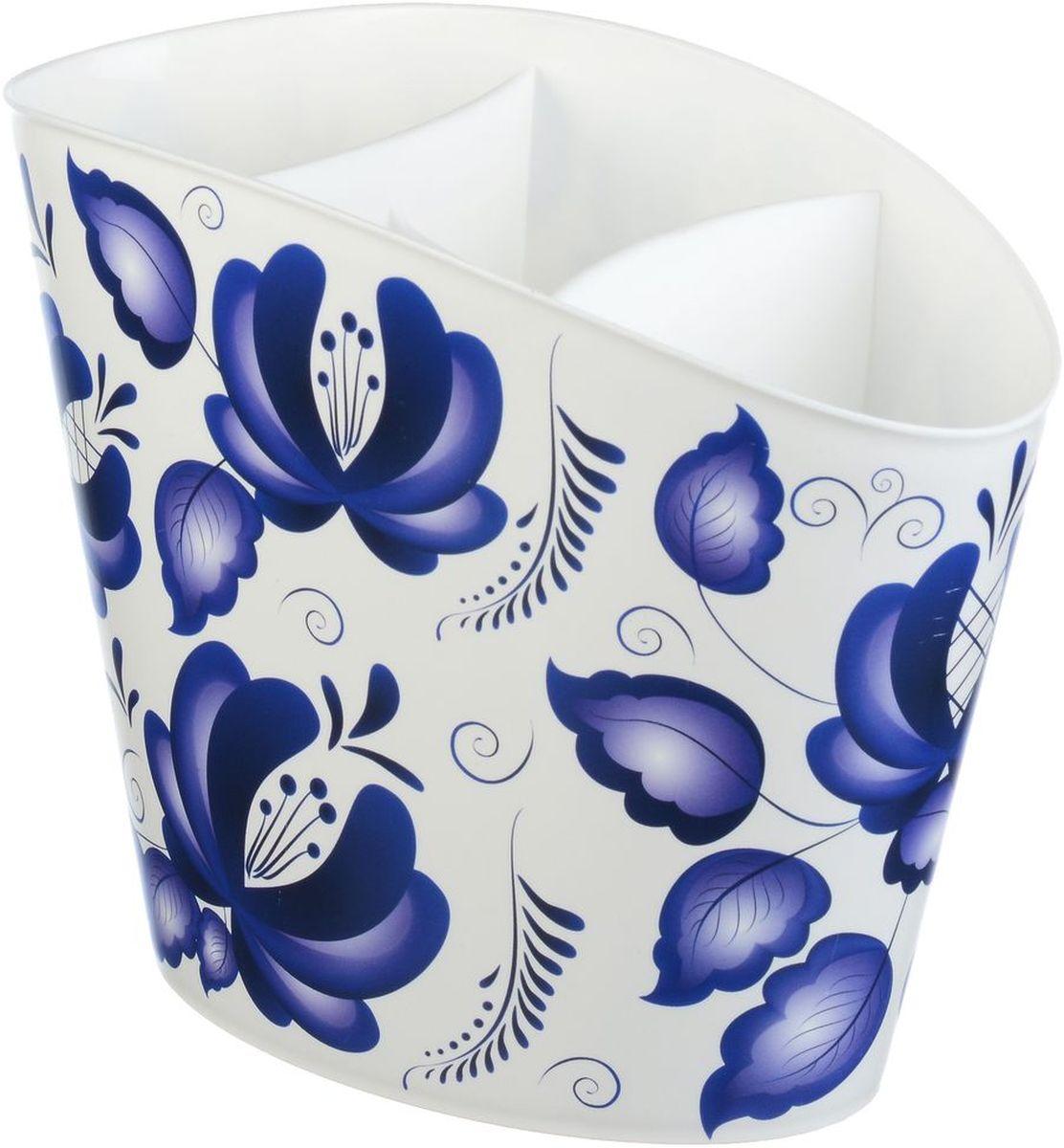 Сушилка для для столовых приборов Idea Деко. ГжельМ 1167