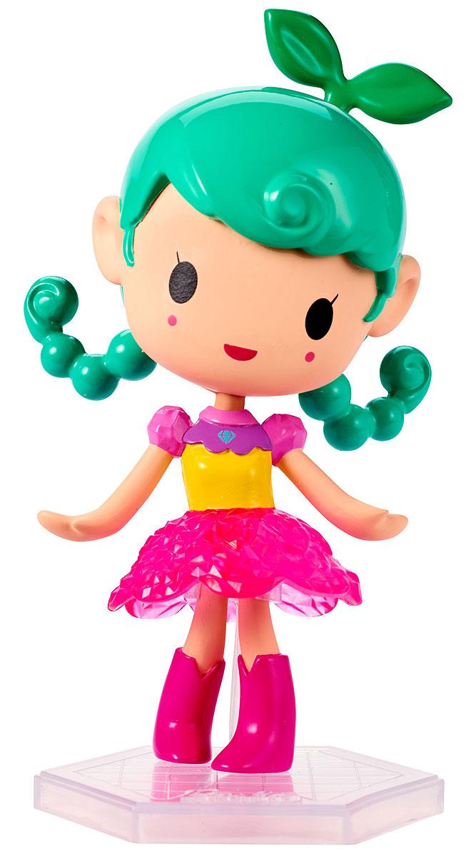 Barbie Мини-кукла Барби Виртуальный мир цвет одежды розовый желтыйDTW13_DWW32Играйте по своим правилам вместе с куклой Barbie! Милая маленькая куколка из виртуального мира готова вступить в игру и победить! Этот персонаж будто пришел к нам из мира игр: яркий разноцветный наряд и небольшой размер делают ее похожим на ожившую картинку. Куколка в желтой кофточке с розовыми рукавами, пышной юбочке и высоких розовых сапожках. Индивидуальность этой малышке прибавляет прическа с зелеными косичками и ростком цветочка. В комплекте с куклой имеется специальная подставка. Вспомните любимую игру или придумайте свои собственные правила! Найдите свою любимицу или соберите их всех!