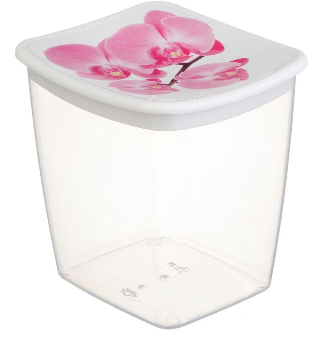 Емкость для сыпучих продуктов Idea Деко. Орхидея, 1 лМ 1225