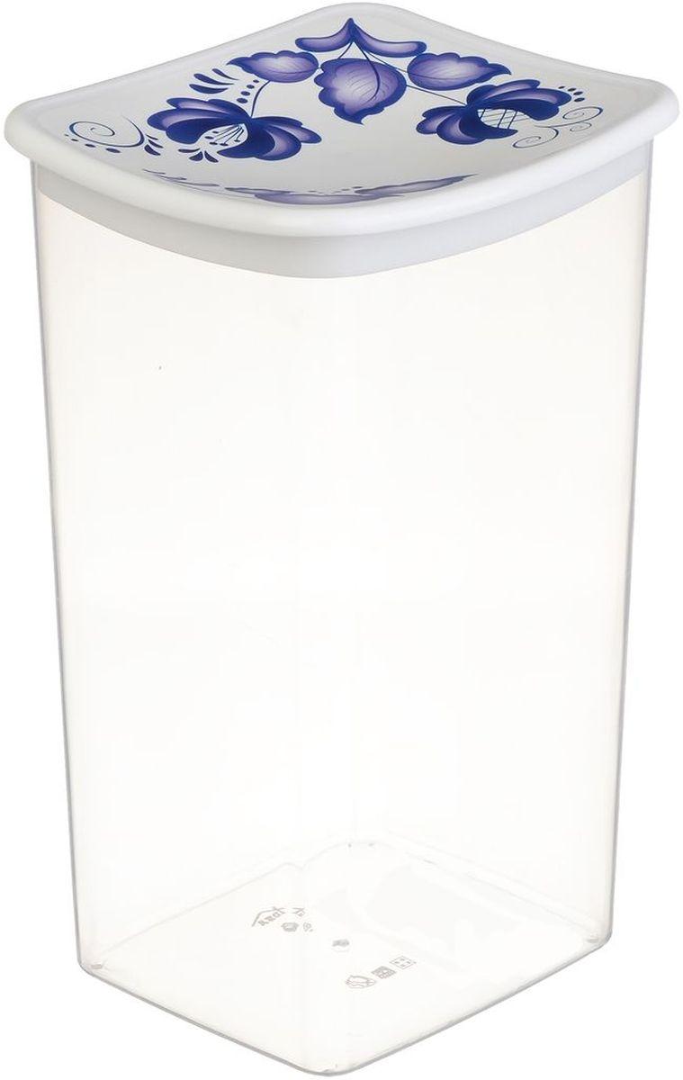Емкость для сыпучих продуктов Idea Деко. Гжель, 1,9 лМ 1227