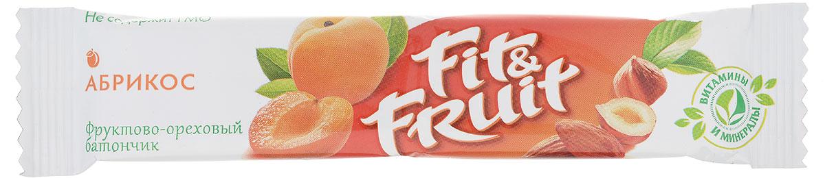 Fit&Fruit Фруктово-ореховый батончик со вкусом абрикоса, 40 г