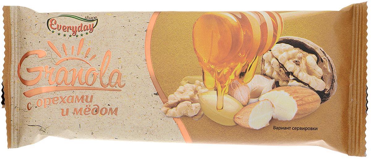 Everyday батончик-мюсли с орехами и медом, 50 гбйф003Everyday - разнообразное и вкусное питание на каждый день. Everyday - это продукты для всей семьи на каждый день! Продукция Granola - это вкусный завтрак или питательный снек. Батончики-мюсли Everyday Granola - это популярные и любимые для российского потребителя вкусы, вкусный перекус для всей семьи, натуральный продукт, многозерновой состав, а самое главное, что это полезный и качественный продукт. Уважаемые клиенты! Обращаем ваше внимание, что полный перечень состава продукта представлен на дополнительном изображении. Упаковка может иметь несколько видов дизайна. Поставка осуществляется в зависимости от наличия на складе.