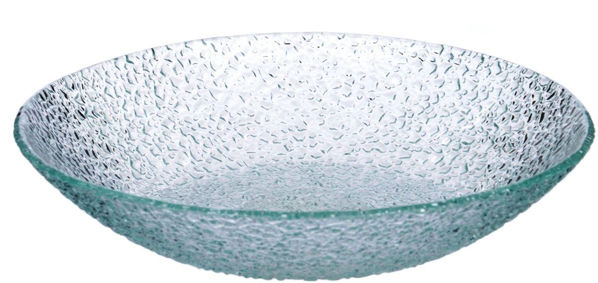 Салатник Арт Дон Хрусталик, диаметр 20 смAD10-20HPПосуду в бесцветном варианте и в бронзе можно мыть в ПММ. Допускается использование в СВЧ. Рекомендуется избегать любого механического воздействия на стекло во избежание его крушения. Узорчатое стекло изготавливается методом его нагрева и проката по твердому основанию, которое имеет заданный рельеф. При остывании такого стекла получается изделие, наделенное рельефным узором. Для такой обработки подходит окрашенное в массе, осветленное или обыкновенное стекло. На выходе мы получаем безопасную посуду из моллированного (изогнутого) узорчатого стекла, которая имеет рифленую поверхность снаружи и гладкую внутри. Наличие множества граней преломляет свет, из-за чего посуда выглядит ярко, необычно, оригинально.
