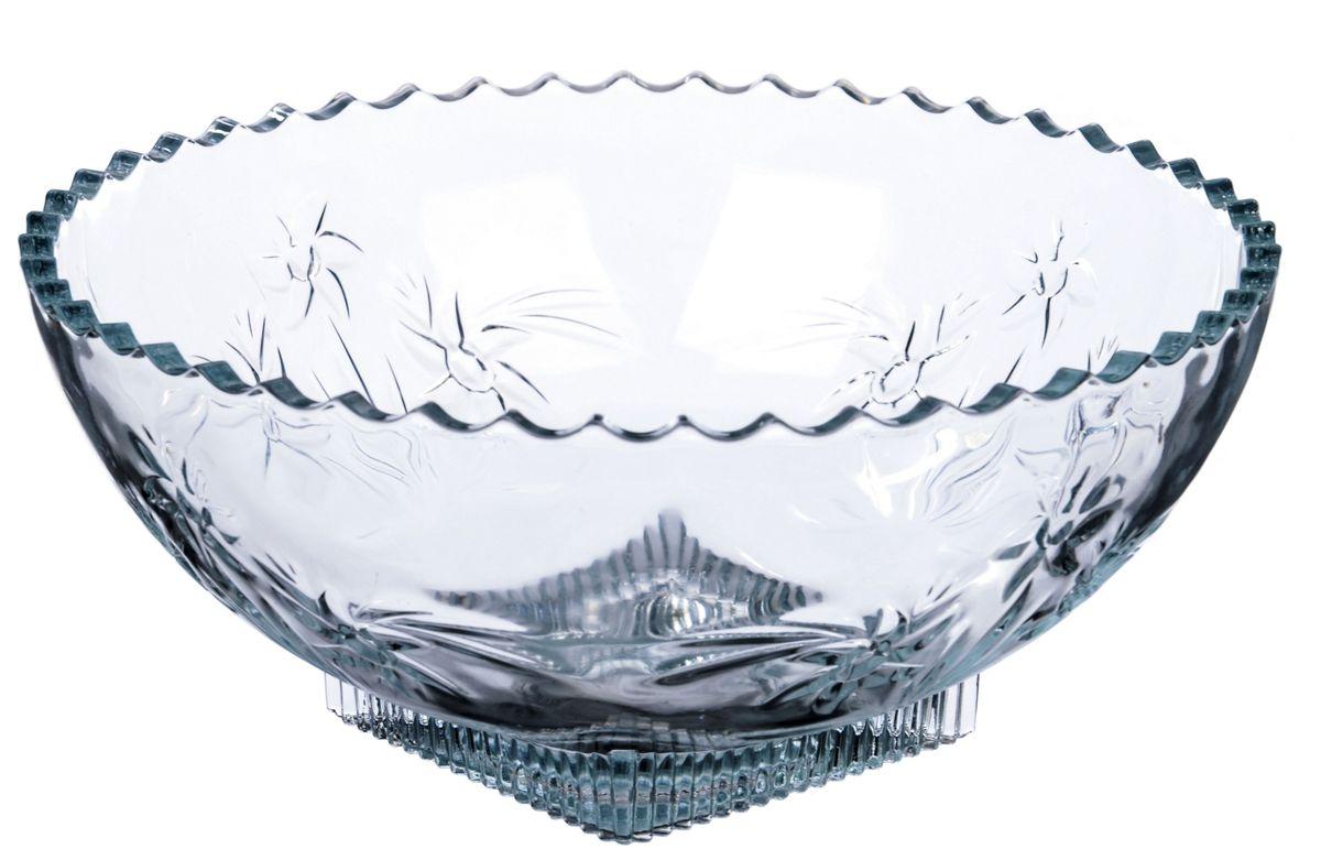 Салатник Isfahan Симин, диаметр 21,.8 см, 1,8 лIG609Посуда из иранского боросиликатного стекла - новый тренд на рынке посуды. Она легче хрусталя, но при этом выглядит достаточно хрустально: те же грани, узоры, преломление света, блики, прозрачность, плавность краев и устойчивость дна. Стеклянная посуда требует определенного ухода. Чтобы сохранить первоначальный блеск, лучше всего воспользоваться следующим способом: посуду необходимо протереть солью либо добавить соль или уксус прямо в воду, а затем помыть посуду водой с мылом и ополоснуть холодной или теплой водой. Чтобы быстро высушить посуду, ее надо ополоснуть в теплой воде, а затем насухо вытереть чистым льняным полотенцем. Посуду из иранского стекла можно мыть в посудомоечной машине.
