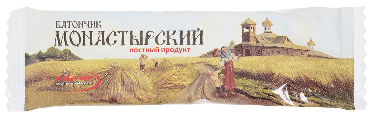 Fit&Fruit Фруктово-ореховый батончик монастырский постный, 25 г 1603008