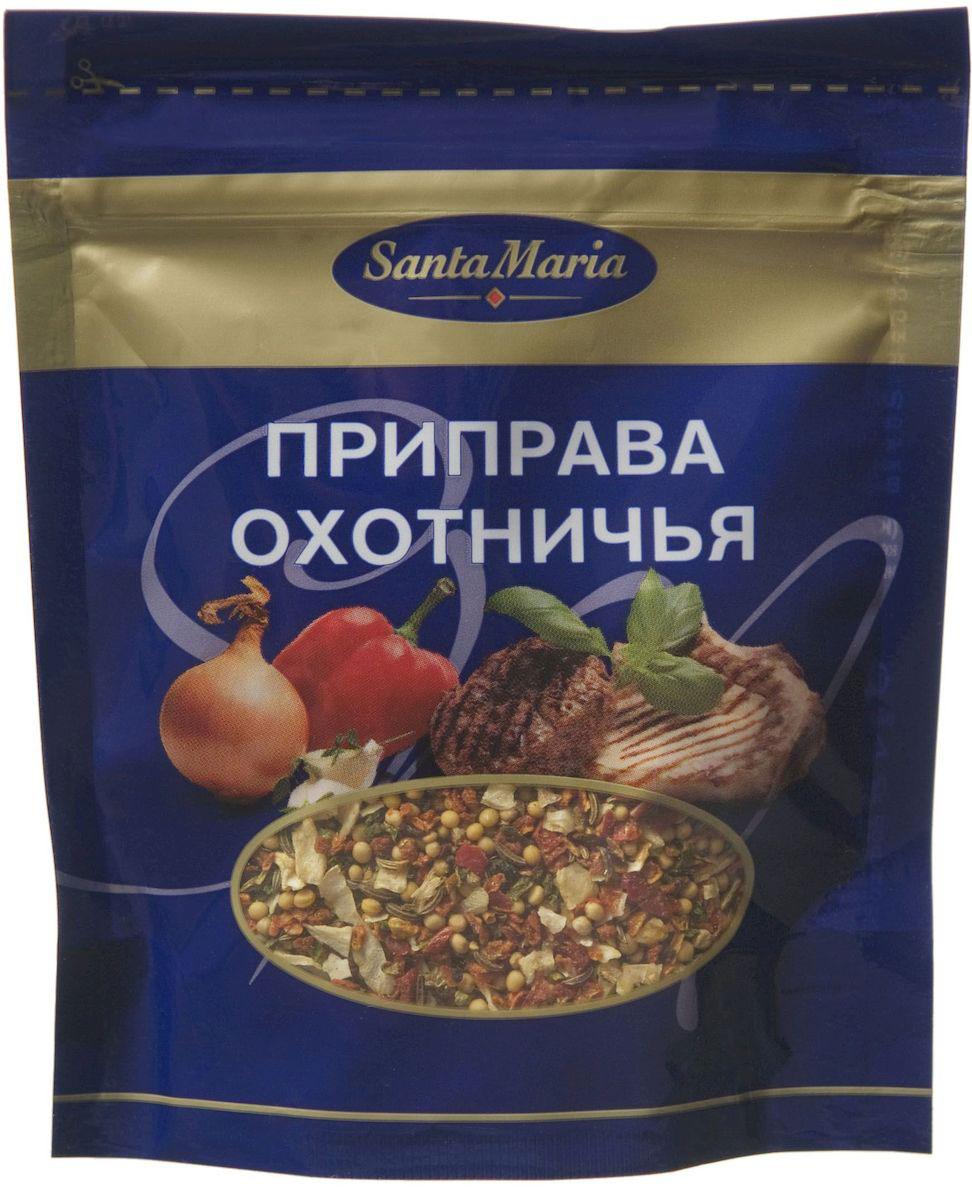 Santa Maria Приправа охотничья, 40 г13911Ароматная смесь для приготовления блюд из дичи, мяса, курицы, рыбы и овощей. Придает блюду нежный аромат тмина и паприки, а также аппетитный внешний вид.