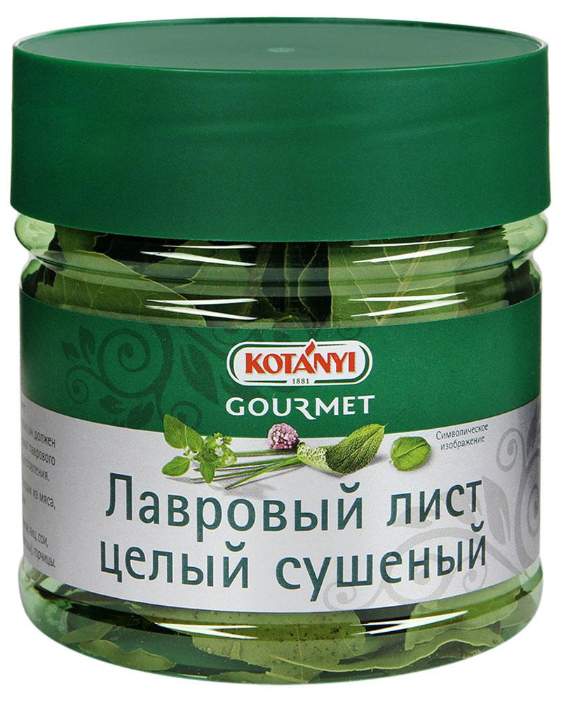 Kotanyi Лавровый лист целый сушеный, 20 г735311Лавровый лист Kotanyi имеет интенсивный пряный, горьковатый вкус. Поэтому он должен использоваться в небольшом количестве. Аромат лаврового листа полностью раскрывается в процессе приготовления. Применение: придает пряный вкус супам, блюдам из мяса, рыбы, дичи, овощей, а также тушеным блюдам.