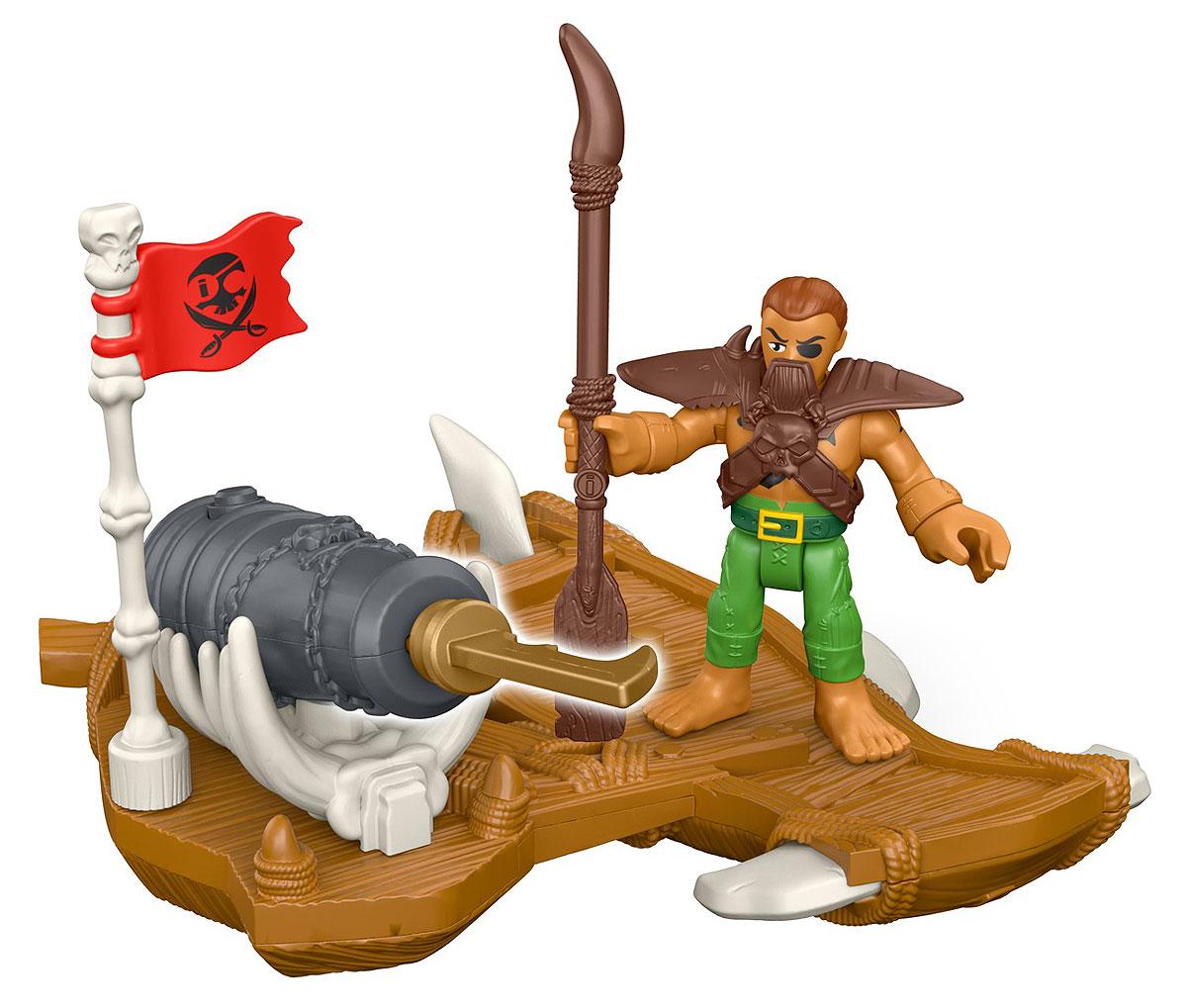 Imaginext Фигурка Пират DHH73_DHH75DHH73_DHH75Йо-хо-хо! С этими игрушками юные любители пиратов могут дать волю своей фантазии и отправиться покорять моря. В этом им поможет фигурка пирата и невероятное оружие для защиты территории и своих сокровищ! Собери всех пиратов и устрой битву буканьеров! (Наборы продаются отдельно. ) Imaginext … Turn on Adventure! О продукте В набор входит фигурка пирата и забавная интерактивная игрушка. Собери всех пиратов для лихих приключений! (Наборы продаются отдельно. )