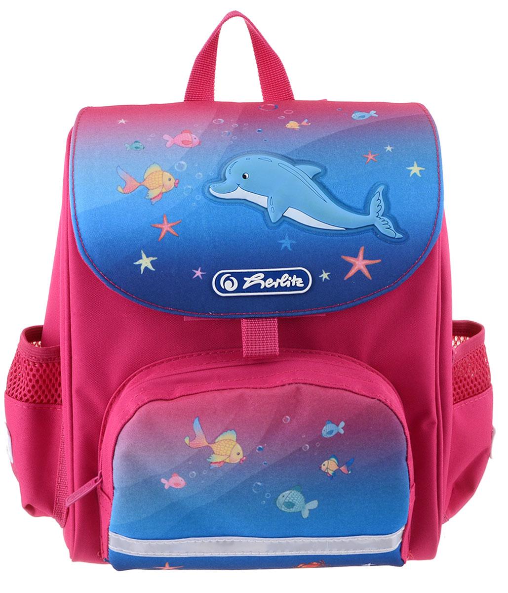 Herlitz Рюкзак дошкольный Mini Softbag Little Dolphin 11408317