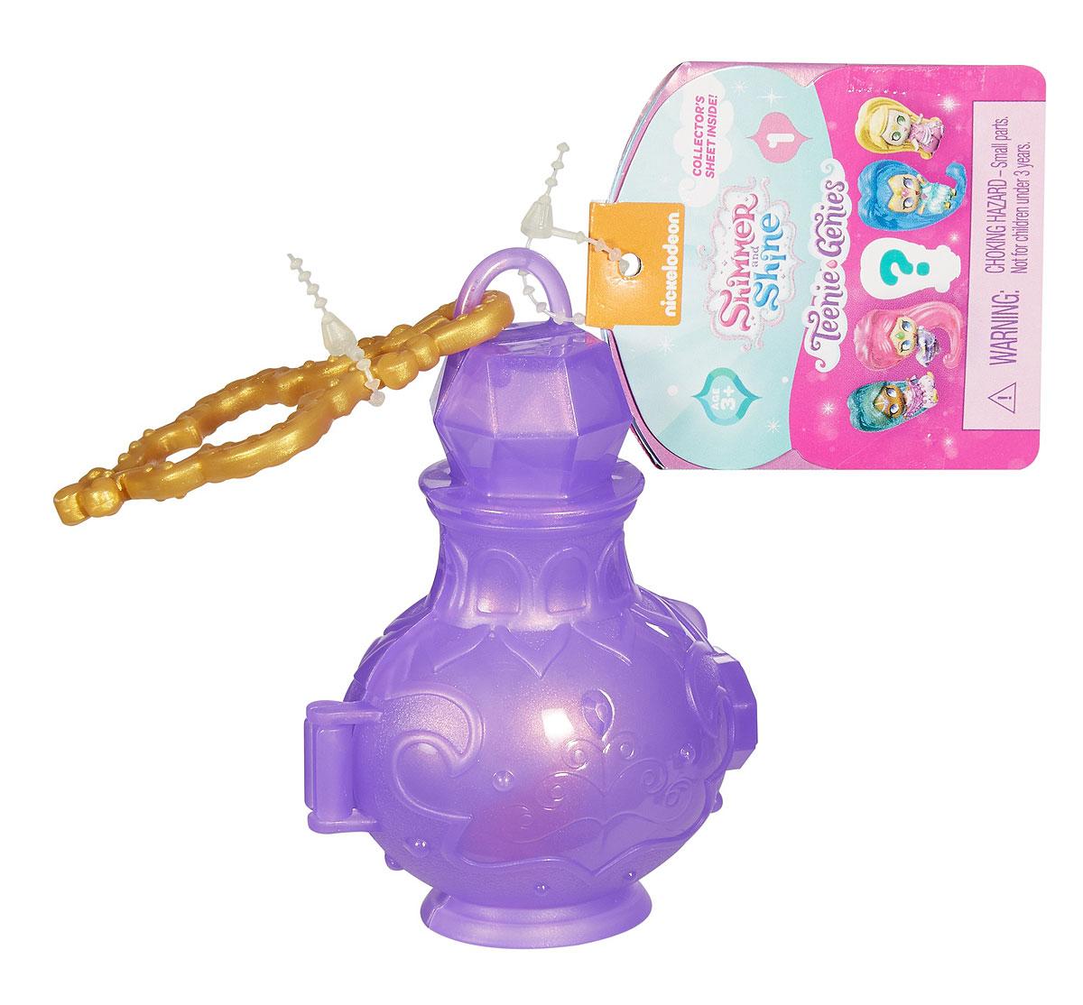 Shimmer & Shine Shimmer&Shine Волшебный джинник DTK47_DVD44DTK47_DVD44Подарите вашему ребенку радость с наборами Волшебный сосуд джиннов из серии Крошечные джинны! Внутри этой маленькой волшебной бутылки живет загадочный джинн! У каждой бутылочки — удобная застежка, чтобы брать ваших джиннов с собой куда угодно! В коллекции более 130 джиннов из разных серий! Ищите также летающих крошечных джиннов! Эти особые джинны выглядят так, будто летят по воздуху! Они отлично подходят к набору Летающий дворец джиннов! Смотрите, они летят из гостиной джиннов прямо в Зеркальную комнату!