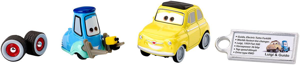 Cars Машинка DHD60_DVV42DHD60_DVV42Собери коллекцию персонажей мультфильма Тачки Disney-Pixar с этой серией премиальных литых машинок. Каждая модель в масштабе 1:55 отличается узнаваемым по фильму стилем, резиновыми/ПВХ шинами и двигающимися деталями, подчеркивающими характер персонажа. Например, у машинки может работать подвеска или открываться капот. В комплекте к каждой машинке идет личная литая лицензионная бирка и акриловая коробка для хранения. В серии — три машинки Тачки. Такие должны быть у каждого коллекционера!