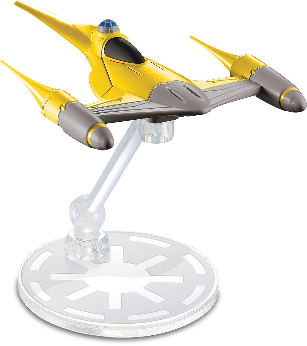 Hot Wheels Star Wars Космический корабль Naboo Starfighter