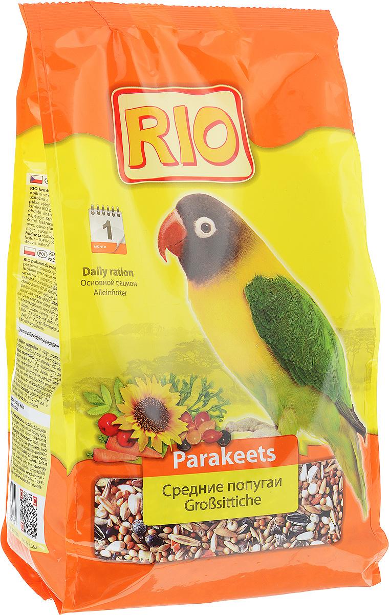 Корм для средних попугаев Rio Основной рацион, 1 кг52953Корм Rio Основной рацион - тщательно сбалансированная зерновая смесь для ежедневного кормления средних попугаев. В состав отобраны самые полезные и любимые неразлучниками, кореллами и другими видами средних попугаев зерна и семена. Их разнообразие обеспечит птицу всеми необходимыми питательными веществами. Товар сертифицирован.