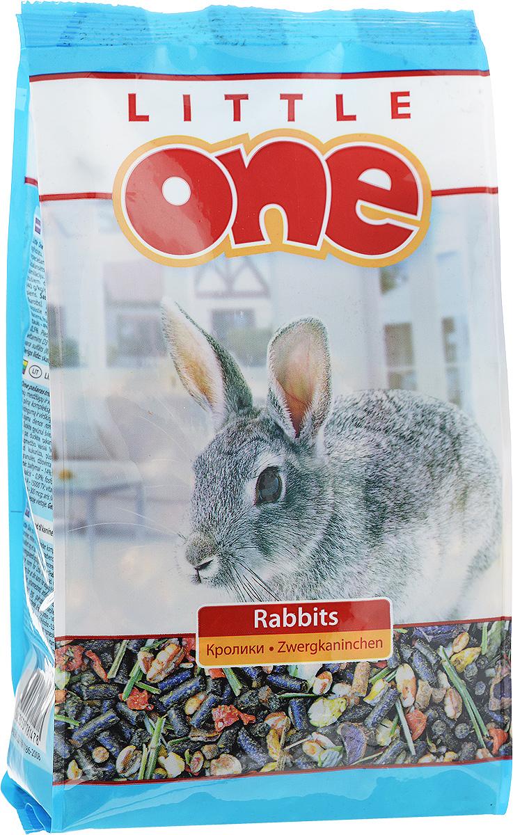 Корм для кроликов Little One, 400 г16240Корм для кроликов Little One- сбалансированное полноценное питание с добавлением витаминов и минеральных веществ. Рацион отличается высоким содержанием клетчатки, необходимой для правильного пищеварения кроликов, содержит полный комплекс белков, жиров и углеводов. Корм обогащен сушеными овощами, плющеными бобами, плодами редких растений. Товар сертифицирован.