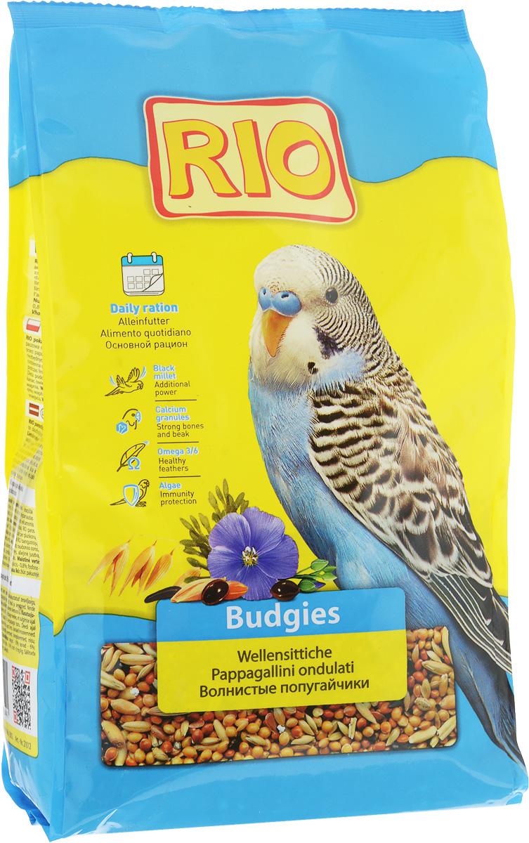 Корм для волнистых попугайчиков Rio Основной рацион, 1 кг55149Корм Rio Основной рацион - тщательно сбалансированная зерновая смесь для ежедневного кормления волнистых попугайчиков. В состав отобраны самые полезные и любимые зерна и семена. Их разнообразие обеспечит птицу всеми необходимыми питательными веществами. Товар сертифицирован.