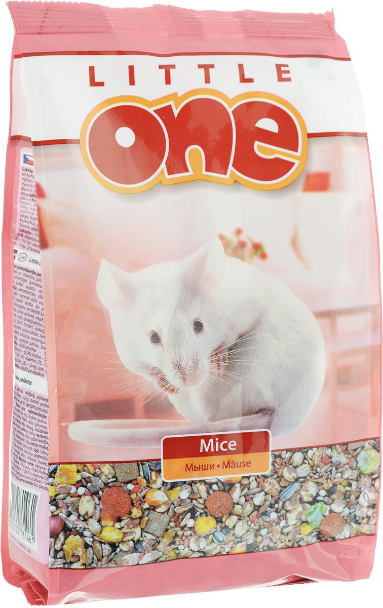 Корм для мышек Little One, 400 г16242Корм для мышей Little One содержит полный комплекс белков, жиров, углеводов, минеральных веществ и витаминов, необходимых для полноценного питания и здоровья вашего питомца. Сбалансированный состав обеспечит высокую питательность и усвояемость корма. Разнообразный и вкусный корм содержит большое количество мелких зерновых компонентов. Товар сертифицирован.