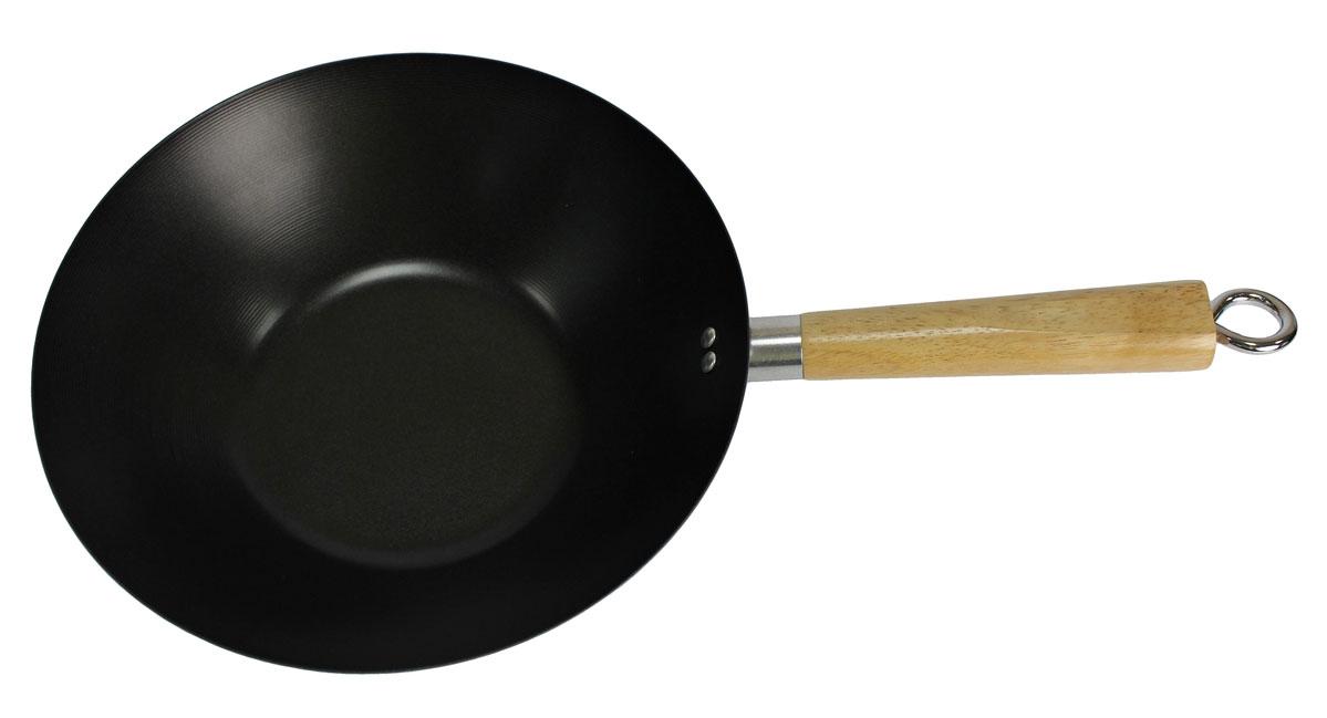 Сковорода-вок Vetta, диаметр 30 см846307Сковорода вок, имеет антипригарное покрытие. Присутствует одна ручка. Без крышки. Отлично подходит для всех типов варочных поверхностей.
