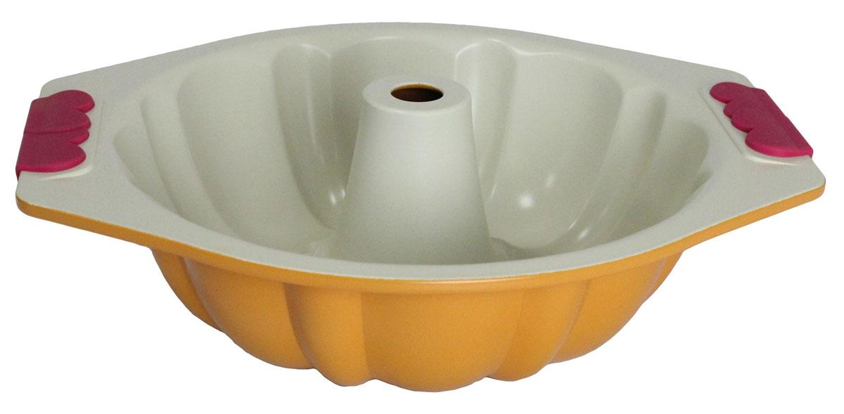 Форма для выпечки Satoshi Dolce vita, диаметр 25 см849001Керамическая форма для выпечки SATOSHI яркая и красивая, она украсит любой стол и выгодно подчеркнет достоинства Ваших блюд.