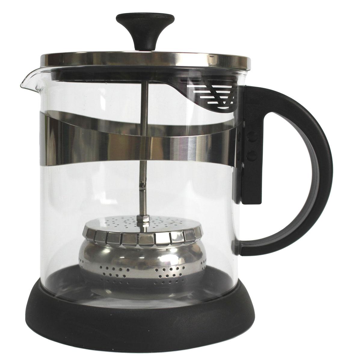 Чайник заварочный Vetta, 1,2 л850131Заварочный чайник Vetta, изготовленный из термостойкого стекла и полипропилена, предоставит вам все необходимые возможности для успешного заваривания чая. Чай в таком чайнике дольше остается горячим, а полезные и ароматические вещества полностью сохраняются в напитке. Чайник оснащен фильтром, который выполнен из нержавеющей стали. Простой и удобный чайник поможет вам приготовить крепкий, ароматный чай.