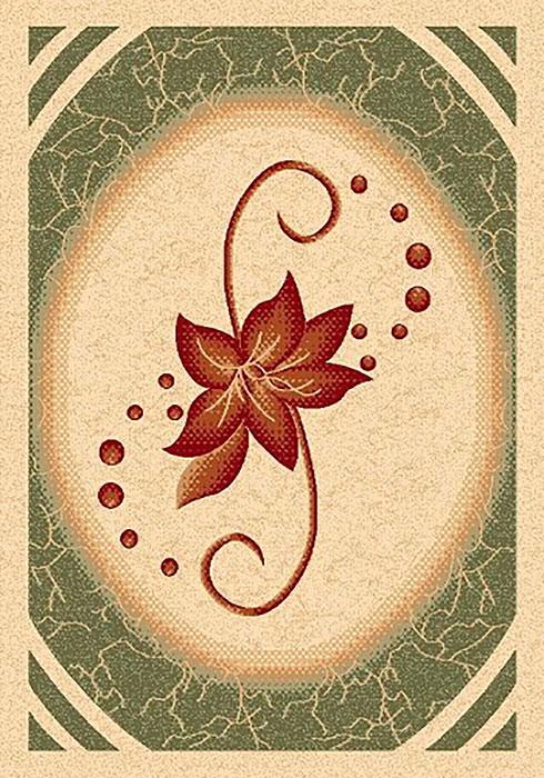 Ковер Mutas Carpet Карвинг, цвет: темно-зеленый, 80 х 150 см. 706342706342Ворс: 100% полипропилен хит-сет, ручная выстрижка ворса