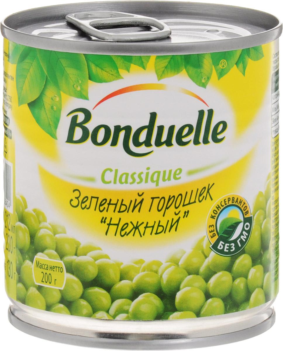Bonduelle зеленый горошек Нежный, 200 г456Нежнейший и сладкий зеленый горошек непревзойденного качества тщательно отбирается, прежде чем попасть в банку. Только у Bonduelle процесс от сбора с грядки до упаковки проходит всего за 4 часа - поэтому на вашем столе всегда самый лучший горошек мозговых сортов, в котором содержится меньше крахмала, больше витаминов и яркого вкуса. Настоящая классика Bonduelle - продукты, давно знакомые и востребованные, а значит, их качество проверено временем и подтверждено любовью миллионов хозяек и поваров. Без них невозможно представить ни один стол нашей страны, а особенно праздничное меню, где обязательно будут салаты с горошком. Уважаемые клиенты! Обращаем ваше внимание, что полный перечень состава продукта представлен на дополнительном изображении.