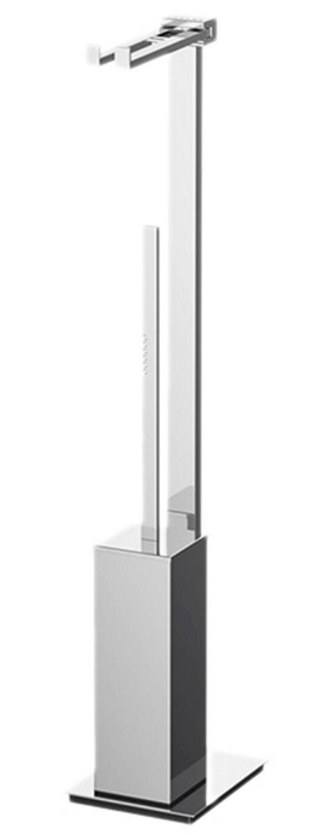 Стойка комбинированная для туалета Lineag Tiffany Lux Un, цвет: хром. TIF 921TIF 921В течение 20 лет компания Lineag разрабатывает и производит эксклюзивные аксессуары для ванной комнаты, используя современные технологии и высококачественные материалы. Каждый продукт Lineag произведен исключительно в Италии. Изысканный дизайн аксессуаров Lineag создает уникальную атмосферу уюта и роскоши в вашей ванной.