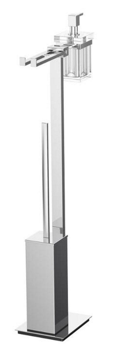 Стойка комбинированная для биде и туалета Lineag Tiffany Un, цвет: хром. TIF 022TIF 022В течение 20 лет компания Lineag разрабатывает и производит эксклюзивные аксессуары для ванной комнаты, используя современные технологии и высококачественные материалы. Каждый продукт Lineag произведен исключительно в Италии. Изысканный дизайн аксессуаров Lineag создает уникальную атмосферу уюта и роскоши в вашей ванной.