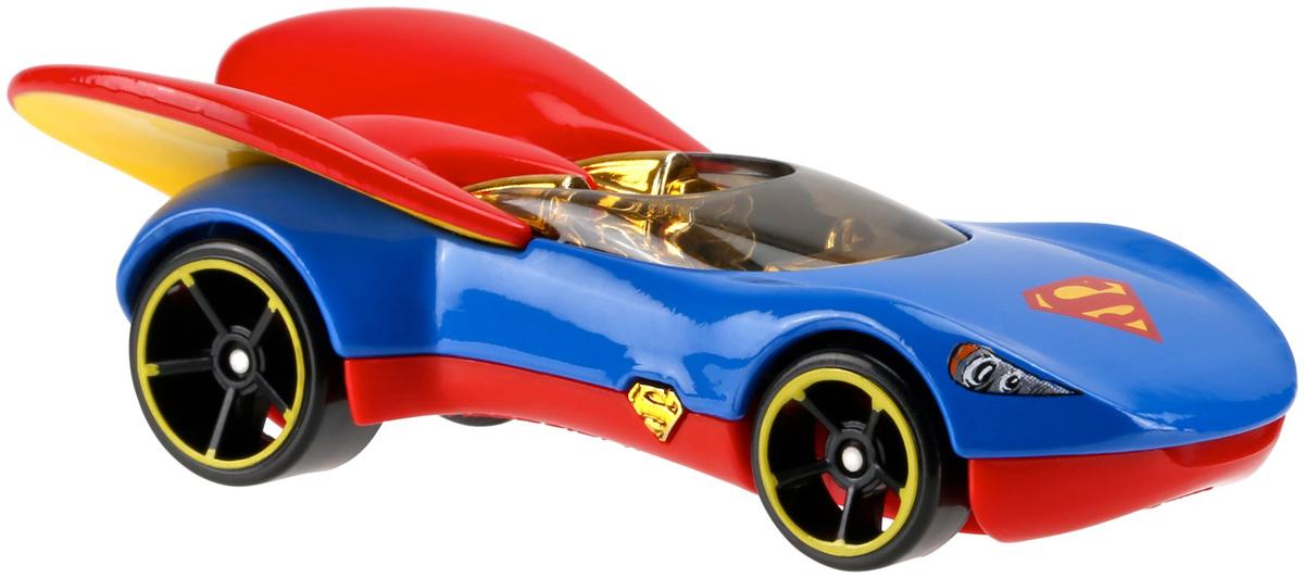 Hot Wheels DC Super Hero Girls Машинка SupergirlDXN49_DXN54