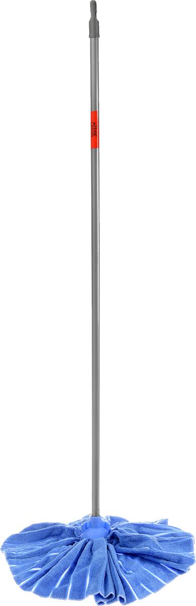Швабра Home Queen Юбка с телескопической ручкой, цвет: голубой, 71-124 см58032_голубойШвабра Home Queen Юбка, выполненная из микрофибры, металла и пластика, идеально подходит для мытья всех типов напольных поверхностей: паркет, ламинат, линолеум, кафельная плитка. Материал насадки - микрофибра обладает высокой износостойкостью, не царапает поверхности и отлично впитывает влагу. Кроме того, сверхтонкое волокно микрофибры обладает свойством притягивать жирные и маслянистые вещества, таким образом, масло и жир прилипают непосредственно к волокнам насадки, что позволяет во многих случаях не использовать при уборке чистящие средства. Телескопический механизм ручки позволяет выбрать необходимую вам длину, а также сэкономить место при хранении. Насадку можно стирать вручную с мягким моющим средством без использования кондиционера и отбеливателя, при температуре 30°-40°С без кипячения. Длина ручки: 71-124 см. Размер насадки юбки: 43 х 35 см.