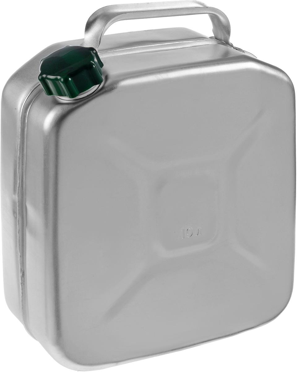 Канистра Scovo, 10 лМТ-030Канистра Scovo, выполненная из высококачественного алюминия, предназначена для хранения горюче-смазочного материала. Для герметичного закрытия канистры предусмотрена винтовая крышка из пластика. Канистра не ржавеет и имеет небольшой вес, крестообразная штамповка по бокам придает канистре дополнительную жесткость. Объем: 10 литров. Размер: 37 х 30 х 12,5 см.