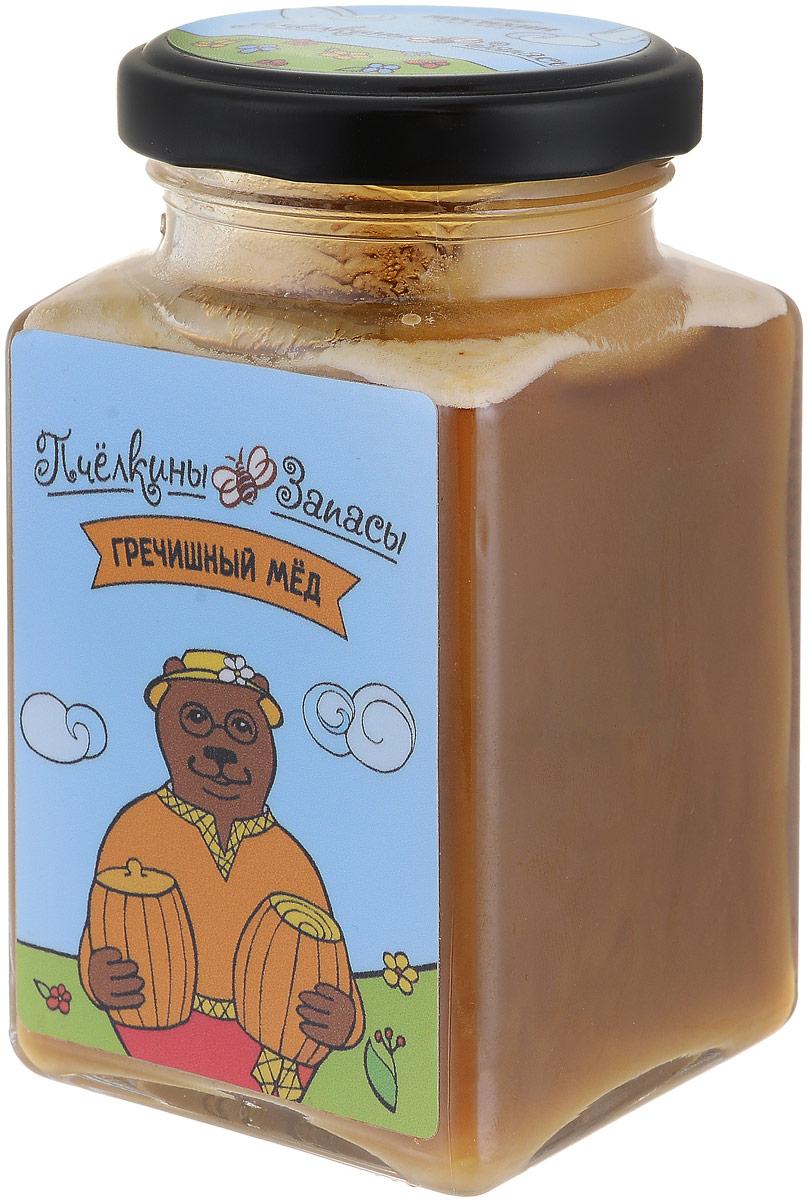 Пчелкины запасы гречишный мёд, 300 г