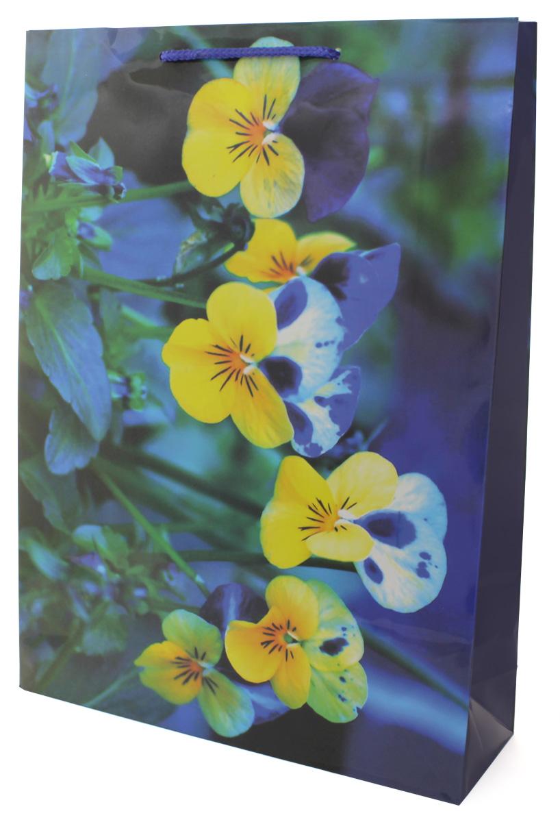 Пакет подарочный МегаМАГ Цветы, 32,4 х 44,5 х 10,2 см. 5044 XL5044 XLПакет подарочный ламинированный. Ручки-шнурки. Размер: 324*445*102 мм .