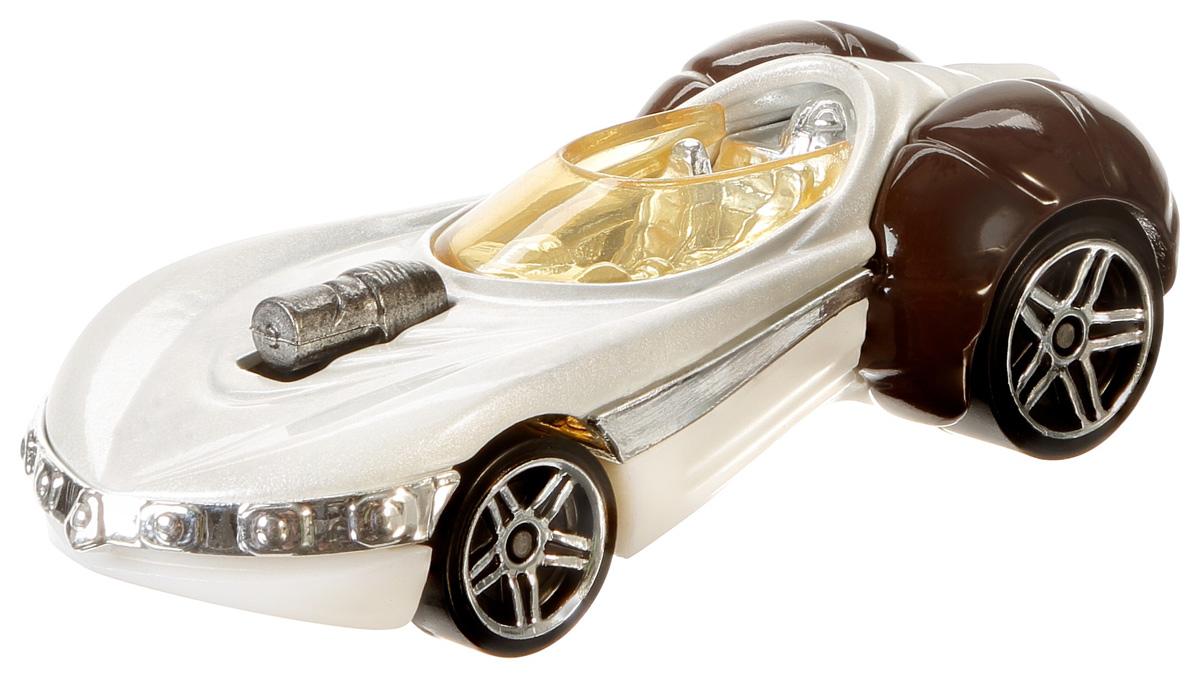 Hot Wheels Star Wars Машинка Princess LeiaDXN83_DXP40Отпразднуй 25-летие с этой уникальной серией серебристых машинок. Идеально подходит для коллекционирования! У каждой машинки — серебристый кузов, шины, колесные диски, клетка безопасности, ходовая часть, окно. А еще в комплекте памятная серебристая монета!