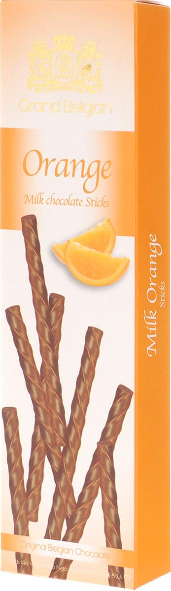GBS Палочки из молочного шоколада с ароматом апельсина, 75 г 7.14.12