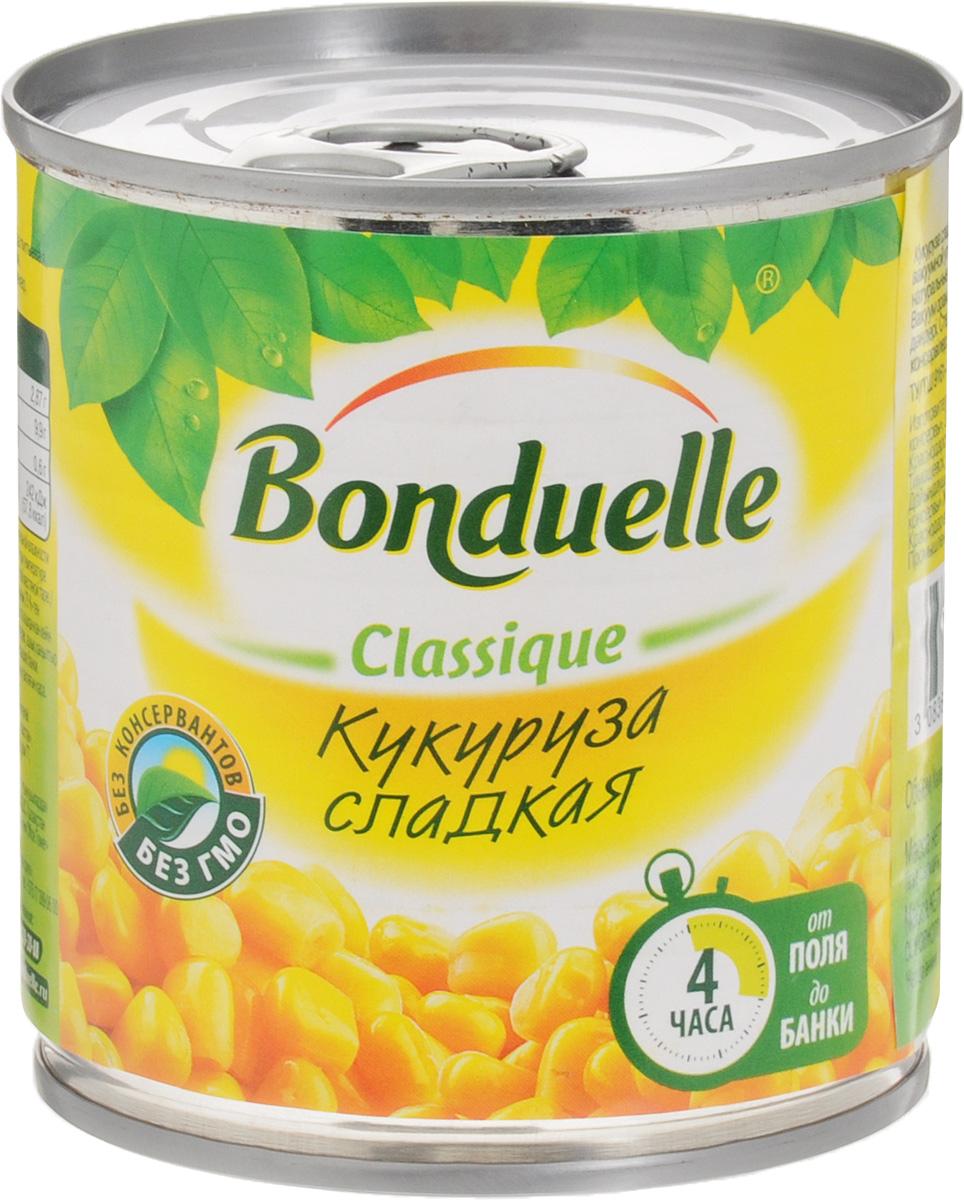 Bonduelle кукуруза сладкая, 170 г1027Настоящая классика Bonduelle - продукты, давно знакомые и востребованные, а значит, их качество проверено временем и подтверждено любовью миллионов хозяек и поваров. Без них невозможно представить ни один стол нашей страны, а особенно праздничное меню, где обязательно имеются салаты с зеленым горошком и кукурузой. Уважаемые клиенты! Обращаем ваше внимание, что полный перечень состава продукта представлен на дополнительном изображении.