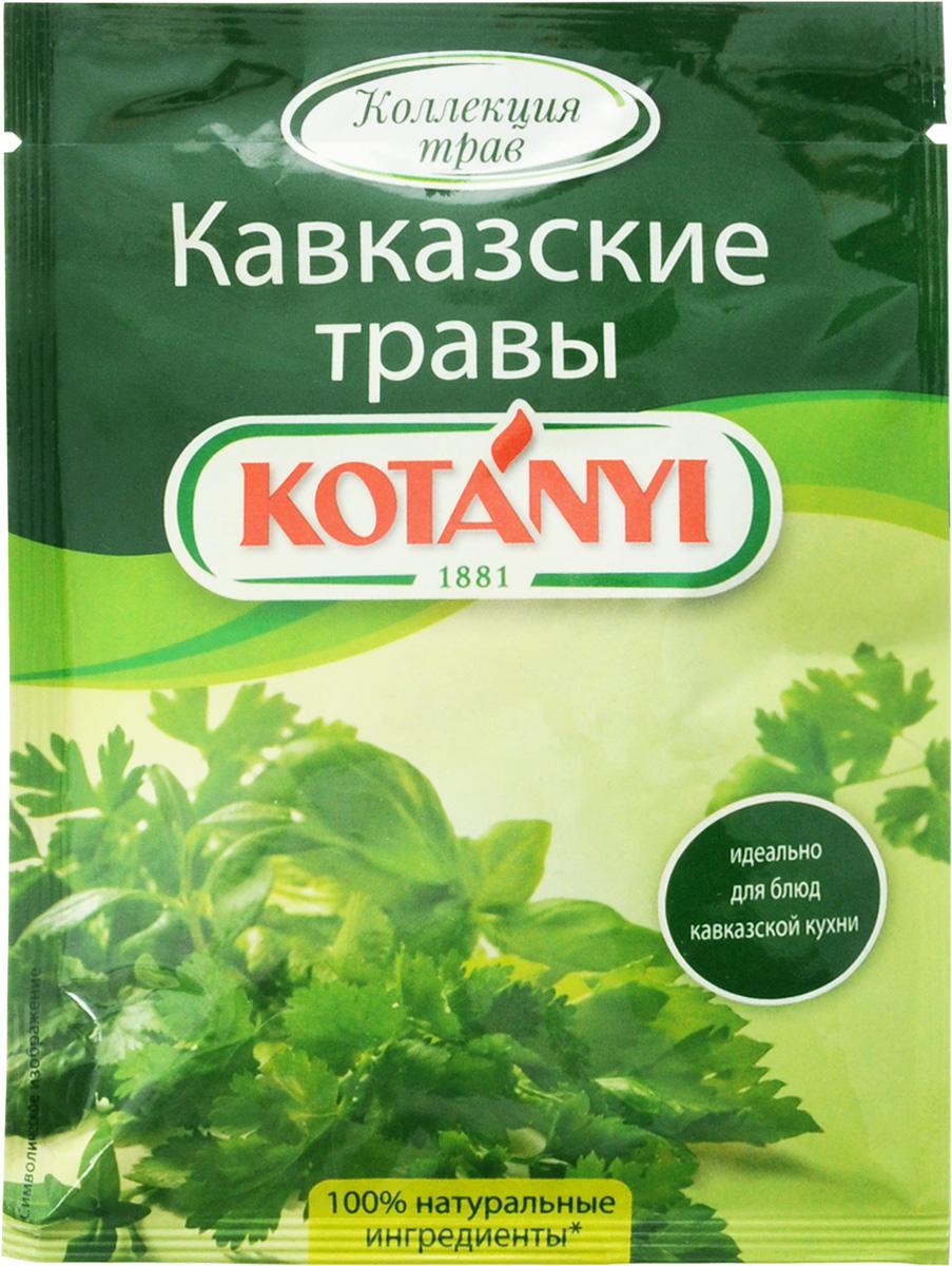 Kotanyi Приправа Кавказские травы, 9 г188011Все началось в 1881 году, когда Януш Котани основал мельницу по переработке паприки. Позже добавились лучшие специи и пряности со всего света. Как в те времена, так и сегодня. Используются только самые качественные ингредиенты для создания особого вкуса Kotanyi. Прикоснитесь и вы к источнику такого вдохновения! Отличительной особенностью кавказской кухни является использование большого количества ароматных трав и специй, произрастающих в горах Кавказа. Именно они придают блюдам пикантный пряный вкус, благодаря которому кавказская кухня пользуется большой любовью и популярностью. Уважаемые клиенты! Обращаем ваше внимание, что полный перечень состава продукта представлен на дополнительном изображении.