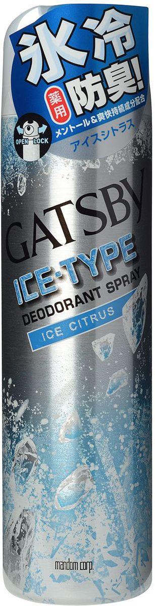 Mandom Дезодорант-антиперспирант Ice-Type – Ледяной Цитрус, для мужчин, 135 г589gbДезодорант-антиперспирант с освежающим ароматом цитрусовых беспечивает надёжную защиту от пота, предотвращает появление неприятного запаха. Способствует долгому сохранению свежести и прохлады. Содержит антибактериальные (изопропилметилфенол), увлажняющие (природные полифенолы) и охлаждающие (ментол) компоненты.