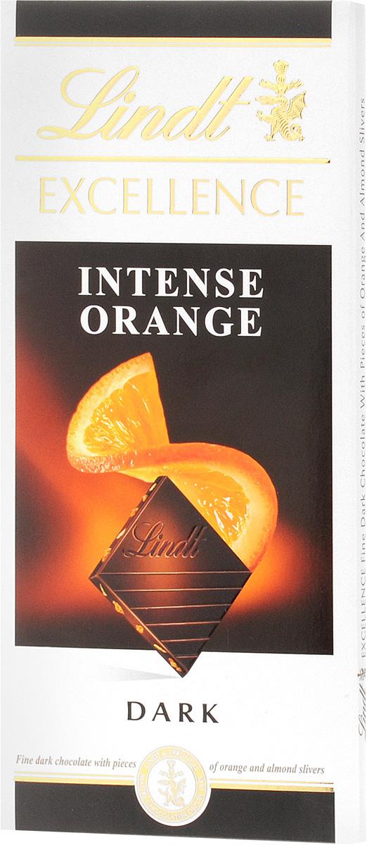 Lindt Excellence темный шоколад с кусочками апельсина и миндаля, 100 г3046920028370Мягкие и нежные кусочки апельсина с миндалем делают вкус этого темного шоколада действительно незабываемым. Уважаемые клиенты! Обращаем ваше внимание, что полный перечень состава продукта представлен на дополнительном изображении.