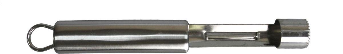 Нож для удаления сердцевины яблока Vetta Альфа882053Нож из нержавеющей стали, специально созданный для того чтобы легко убирать сердцевину из середины яблока, даже самого большого и крепкого.