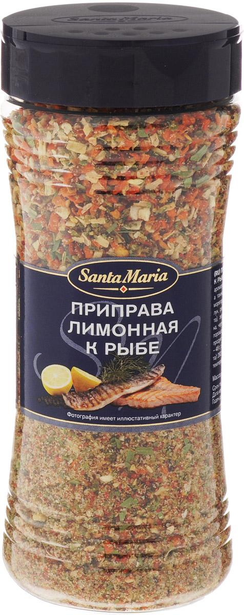 Santa Maria Лимонная приправа к рыбе, 230 г17144Приправа Santa Maria с насыщенным вкусом и ароматом лимона. Прекрасно подходит к рыбе, а также к овощам и салатам, например, из морепродуктов. Уважаемые клиенты! Обращаем ваше внимание, что полный перечень состава продукта представлен на дополнительном изображении.