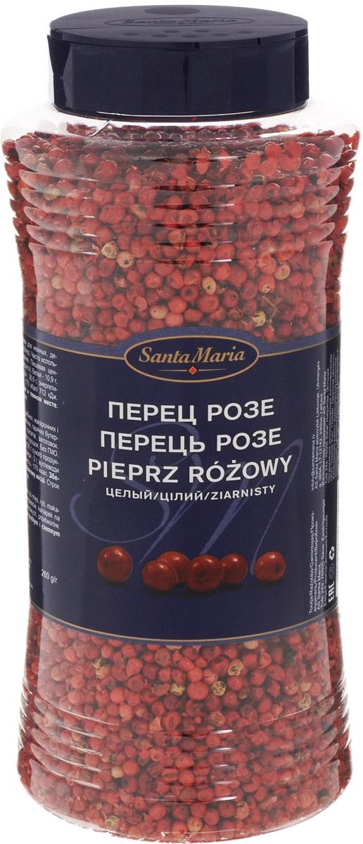 Santa Maria Перец розе, 260 г17709По форме и легкому остро-сладкому вкус ягод похож на перец. Запах пряности нежный, с нотками аниса, имбиря, ментола, цитрусовых, изюма и можжевельника. Идеальная приправа для нежных, деликатных и легких блюд. Часто используется для украшения.