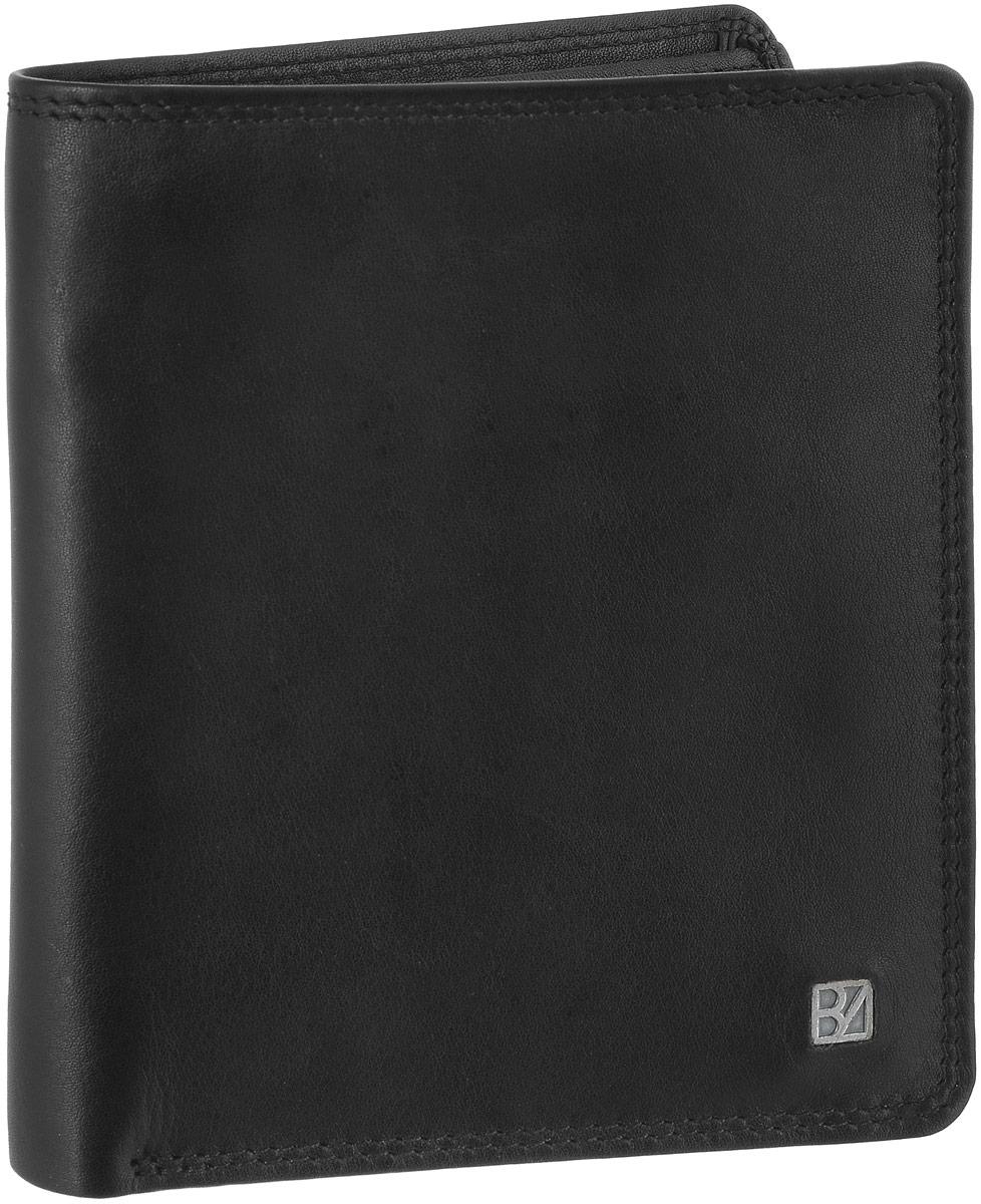 Кошелек мужской Bodenschatz, цвет: черный. 8-8428-842 blackКошелек Bodenschatz выполнен из натуральной кожи и оформлен пластинкой из латуни с логотипом бренда. Внутри расположены два отделения для купюр, 12 прорезных карманов для пластиковых карт и три вертикальных кармана, два из которых с сетчатыми окошками. Изделие упаковано в фирменную коробку.