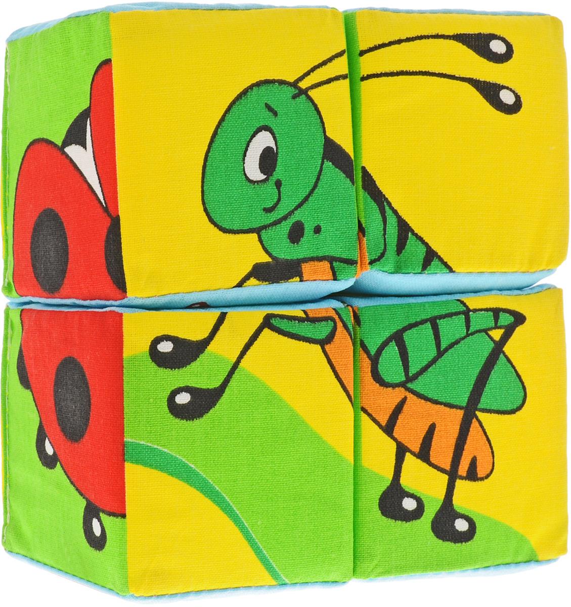 Мякиши Кубики Собери картинку Насекомые238Развивающая игрушка Мякиши Собери картинку. Насекомые обязательно привлечет внимание вашего малыша. Игрушка выполнена в виде четырех кубиков. Правильно складывая кубики, ребенок получит изображения в виде различных насекомых. Данная игрушка способствуют развитию сенсорных способностей, развитию речевых навыков, развитию целостности зрительного восприятия и мелкой моторики детских ручек.