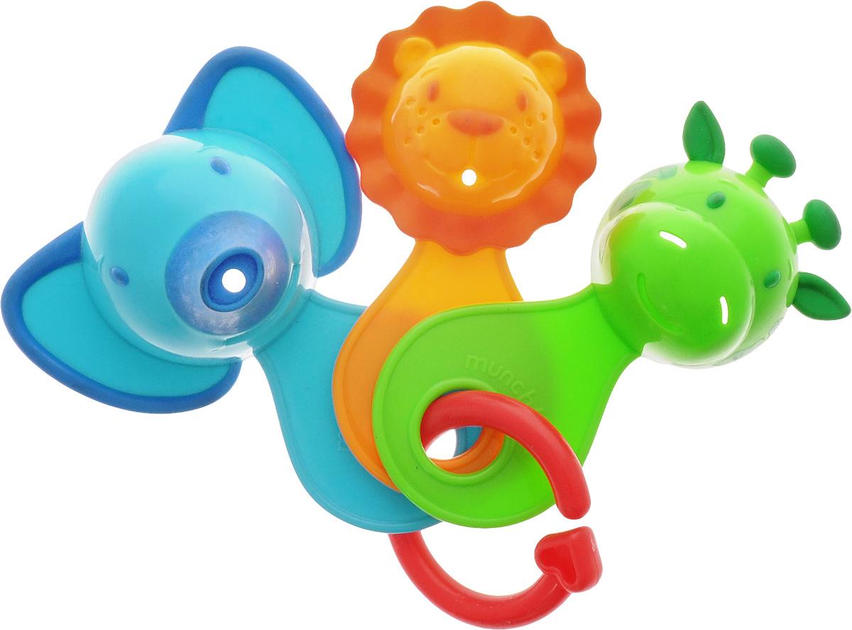 Munchkin Игрушка для ванны Весёлые ситечки11964Игрушка для ванны Munchkin Весёлые ситечки привлечет внимание вашего малыша и превратит купание в веселую игру. Ребенка ждет настоящее приключение. Стоит только зачерпнуть и просеять воду. Ваш малыш будет наблюдать как она будет вытекать из разноцветных мордочек. Игрушка для ванны Munchkin Веселые ситечки способствует развитию воображения, цветового восприятия, тактильных ощущений и мелкой моторики рук.