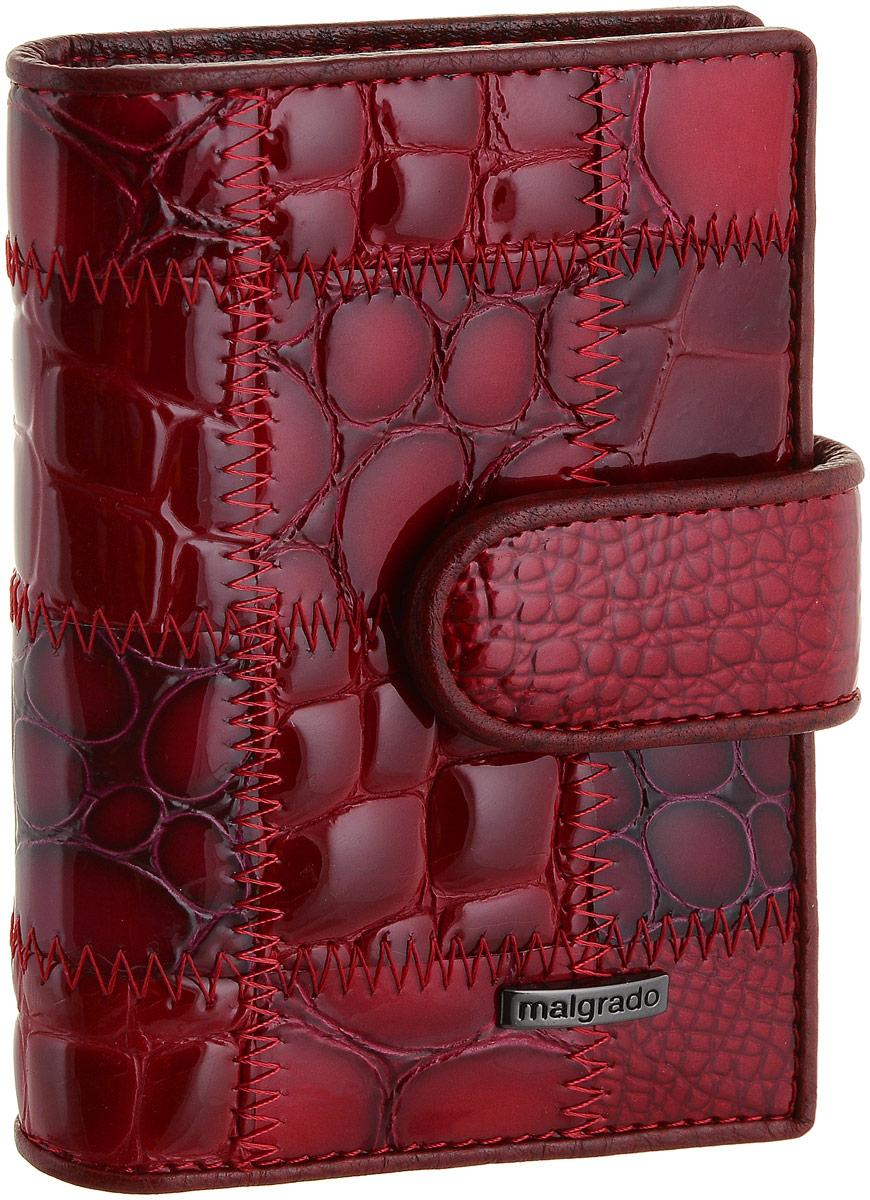 Визитница Malgrado, цвет: красный. 42003A-444A