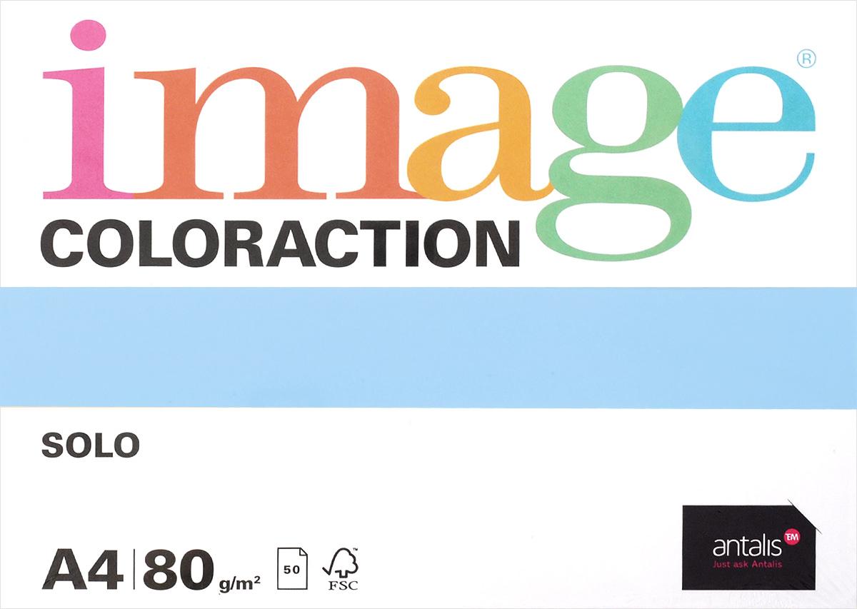 Image Бумага для принтера Coloraction цвет голубой 50 листов717072Бумага для принтера Image Coloraction - это высококачественная бумага с превосходной гладкостью. Подходит для печати на лазерных принтерах, многофункциональных копирующих устройствах и цифровом оборудовании. Комплект состоит из 50 листов голубого цвета формата А4.