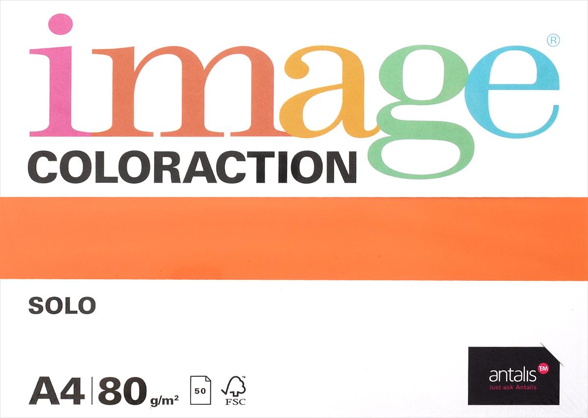 Image Бумага для принтера Coloraction цвет оранжевый 50 листов717048Бумага для принтера Image Coloraction - это высококачественная бумага с превосходной гладкостью. Подходит для печати на лазерных принтерах, многофункциональных копирующих устройствах и цифровом оборудовании. Комплект состоит из 50 листов оранжевого цвета формата А4.